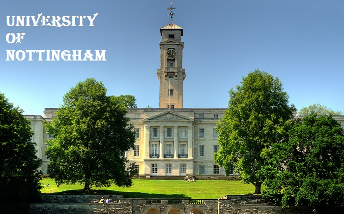 University of Nottingham Wiki Biography History Ranking Location Established